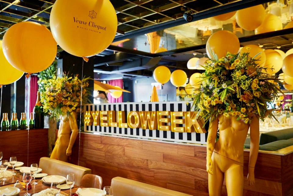 Veuve Clicquot Serves Yelloweek With Camps Bay Realness