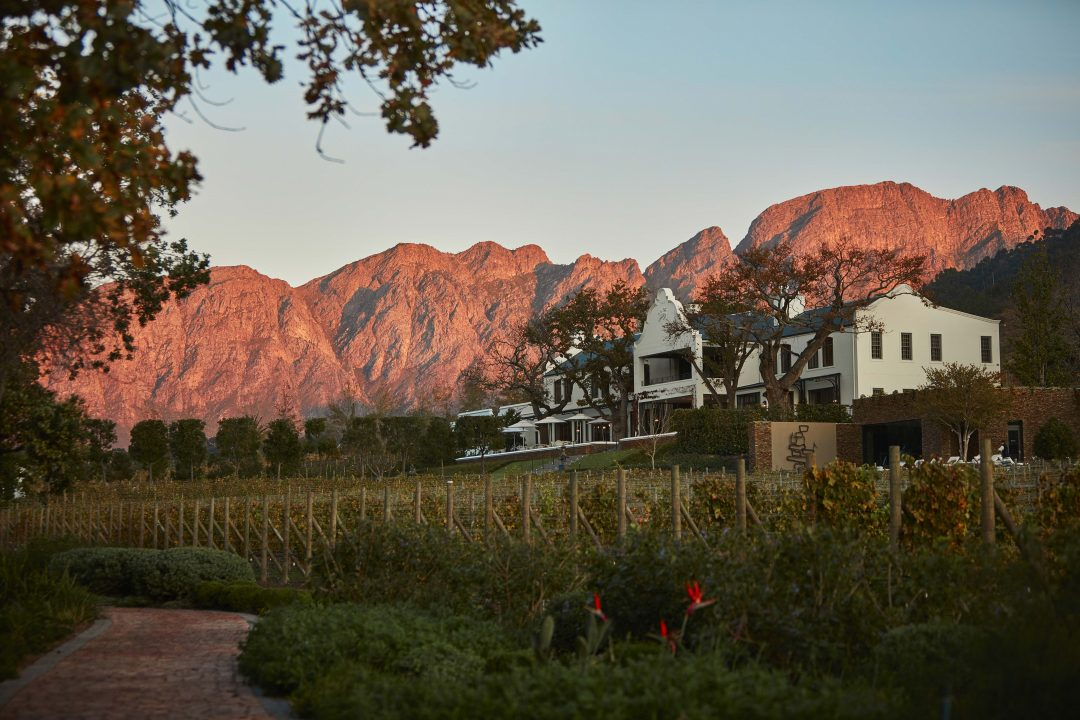 Best Hotels In Franschhoek